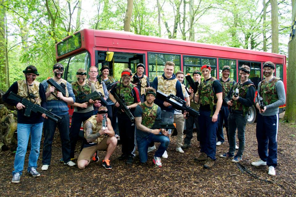 LASER TAG OXFORD STAG 1