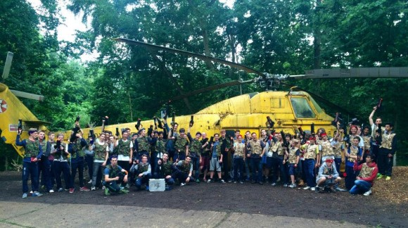 heli big group